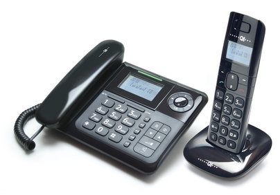 desktop/cordless telephone combo Eurofone